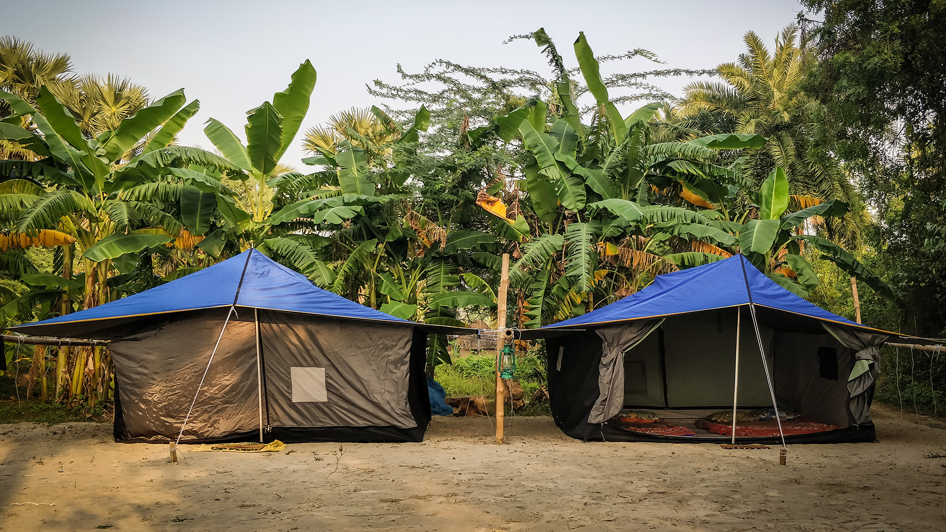 Share on Facebook Share & Mousuni Island - Tent Booking Accommodation Call 7980514477